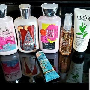 Bath & Body Works lotions & spray